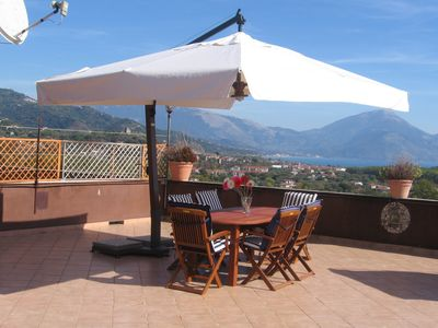 Photo for three-room apartment of 70 sqm with terrace of 70 sqm