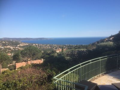 Photo for Independent apartment in villa for 6/8 persons, exceptional sea view