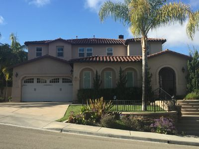 Spacious family home with a view - close to the Beach, Legoland, Del Mar Races!