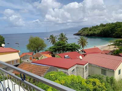 Photo for Anse Dufour: Apartment F3 with sea view