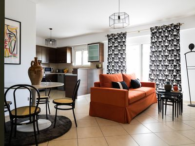 Photo for Athenian Apartment with Acropolis View