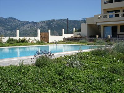 Photo for Secluded Villa with Private Pool on the Unspoilt Island of Evia