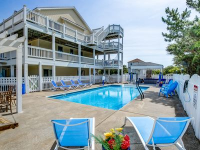 Photo for Surfin' USA | 1250 ft from the Beach | Private Pool, Hot Tub