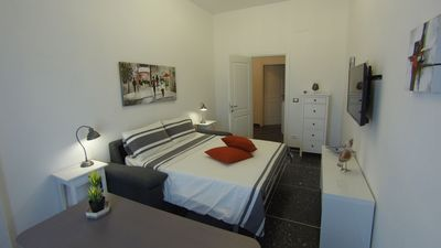 Photo for Delightful newly renovated apartment near Tiburtina station.