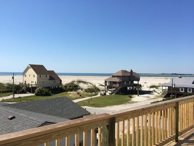 Amazing views of ocean, inlet and sound from wrap-around decks