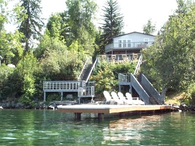 Photo for Waterfront Lighthouse Villa Great Location 5 Min to Sandpoint