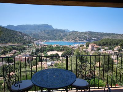 Photo for Beautiful apartment with views of the Port of Sóller