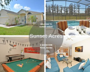 Photo for Spacious Home With Pool & Games Room With Lake View Close to Attractions