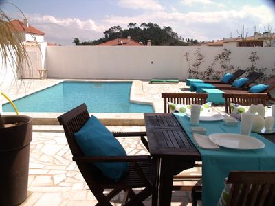 Photo for This 3-bedroom villa for up to 6 guests is located in Sesimbra and has a private swimming pool......