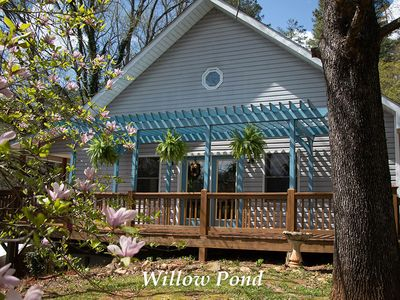 Photo for Willow Pond - Beauitful property with hot tub.