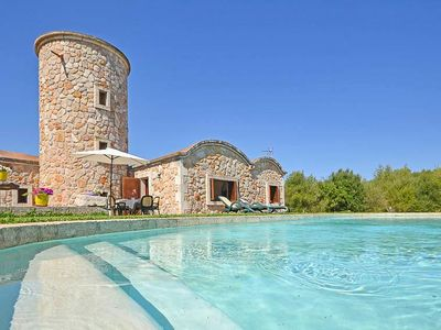 Photo for Mill-Finca, quiet location with private pool - for 6 (+1) persons