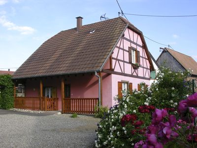 Photo for the alsatian house located in a quiet village
