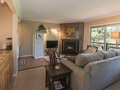 Photo for Modern Condo Near Old Mill Gives You Access to Tennis, Swimming, Hot Tub