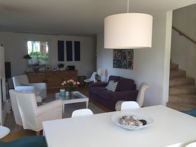 Photo for House for rent on the heights of Lausanne 8-10 people