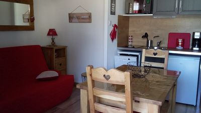 Photo for Apartment 4 people, fully equipped and on the slopes in Puy Saint Vincent 1700