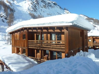 Photo for Comfortable duplex chalet at the foot of the slopes