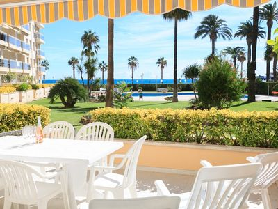Photo for LUXURY APARTMENT OF ON FIRST LINE OF BEACH  M205-001 LOS FLAMENCOS