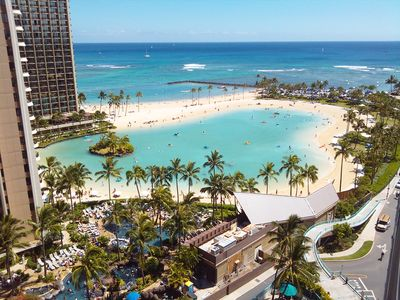 Photo for Ilikai Hotel Oceanfront/Ocean View Condo in Beautiful Waikiki - $188