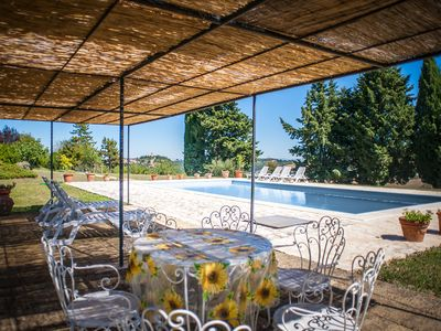 Photo for House with private pool  with beautiful view Val d 'Orcia
