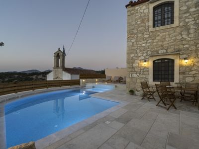 Photo for Traditional Stone Villa in Rethymno