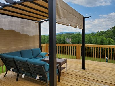 Photo for Asheville Mtn LUXURY 6 min to Asheville NEW Sleeps 19 GAME ROOM AND SPA!