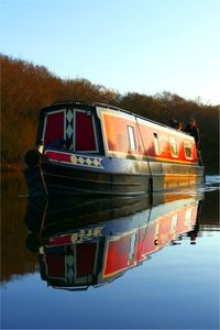 Photo for Narrowboat - Sleeps 4 - Lady Sophia