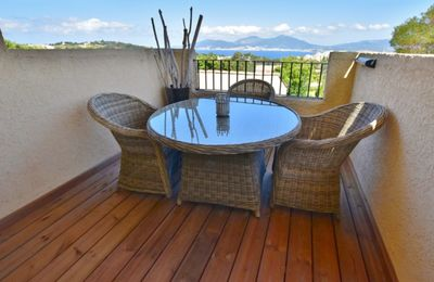Photo for housing with terrace overlooking the bay of ajaccio