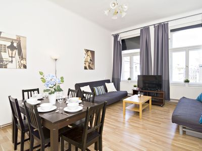 Photo for 3BR 10min from Charles Bridge and across the river from National Theatre