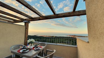 Photo for Sole apartment with sea view
