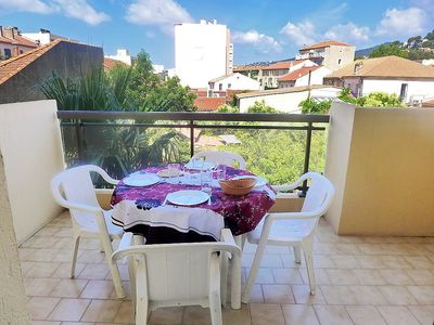 Photo for Apartment in the center of Le Lavandou with Lift, Internet, Balcony (114987)