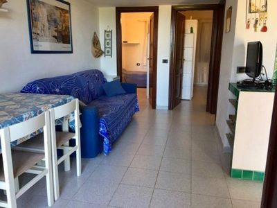 Photo for Miriacheddu Spaziani apartment in San Teodoro with integrated air conditioning & private parking.