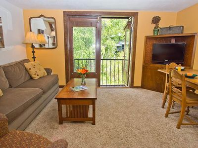 Photo for Large Lofted Room With Kitchenette at Manitou Lodge