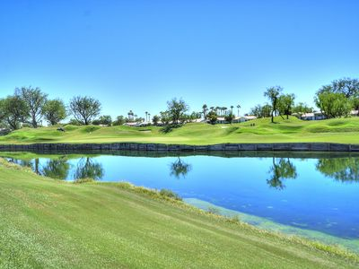 Photo for Magnificent Lake & Golf Views