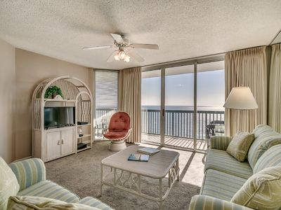 Photo for AshWorth 1706, 2 Bedroom Beachfront Condo, Hot Tub and Free Wi-Fi!