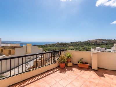 Photo for Mannija Penthouse - very attractive location, 2 terraces, beautiful views