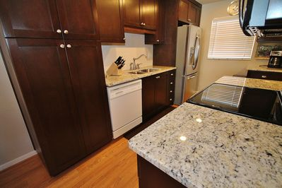 Beautifully Redone Kitchen with Granite Counter Tops
