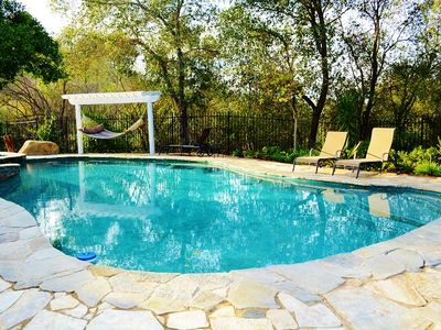 Private Pool - Pool with heating feature (optional)