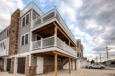 Long Beach Island Vacation Rental | Apartment | 2BR | 1BA | Steps Required