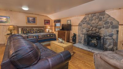 Photo for Whispering Pine Cabins - Bear's Way - Upper Canyon with Fireplace &  Kitchen