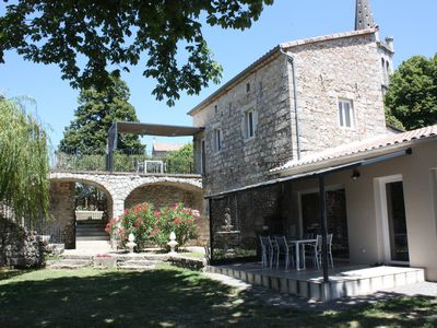 Photo for The Auzon cottage 4 people in southern Ardèche