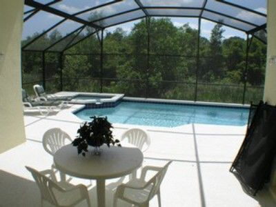 Heated pool & spa. Overlooking conservation area.