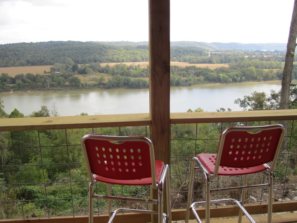 Leavenworth Cabin Rental   View Of Ohio River From ...