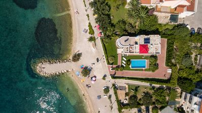 Photo for Villa Palmina,villa with pool on the beach.