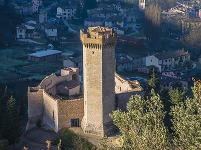 Photo for Rocca dei Trinci is a luxury castle in the heart of Umbria with private pool 5 bedrooms and 5 bathro