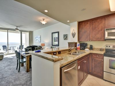 Photo for Gulf front 1 bed/2 bath condo w/ expansive views & free 2019 beach service
