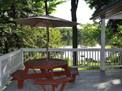 Photo for Pristine Lake Front Property with Many Outdoor Opportunities