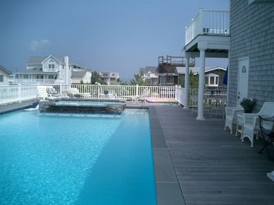 large pool with hot-tub attached!