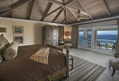 Divine Honeymoon Suite (Bdrm 1) with total privacy and its own patio for total enjoyment.