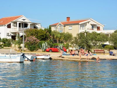 Photo for Charming apartment in Vrsi Mulo, great place in Dalmatia for family vacation