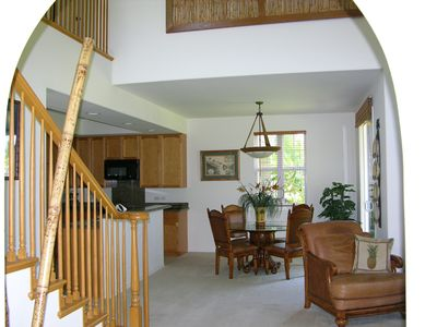 Arched entry into beautiful 2 story Town home.. perfectly maintained!